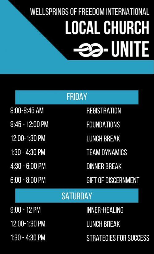 Local Church Unite Schedule Template_